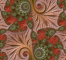 FRACTAL ART on display collage by ackelly4