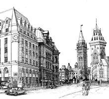 Elgin Street Ottawa 1984 by John W. Cullen