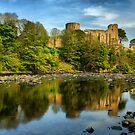 Barnard Castle & Reflections by Stewart Laker