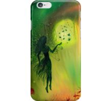 Fairy with Butterflies iPhone Case/Skin
