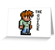 Terraria's Guide character Greeting Card