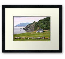 Capstick, Nova Scotia Framed Print