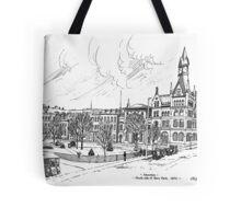 Gore Park Hamilton 1870 Tote Bag