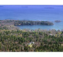 Coastal Inlet Photographic Print