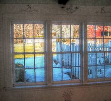 Rustic Windows On The World, East Jersey Olde Towne Village by Jane Neill-Hancock