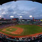 Eagle Eye View of Fenway Park by artbylisa