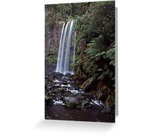 Hopetoun falls in the otway ranges Greeting Card