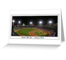Fenway Park Pano #1 Greeting Card