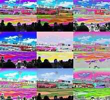 Fenway Park Modern Art by artbylisa