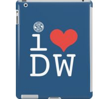 I Heart Doctor Who iPad Case/Skin
