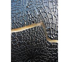 Cracked and Wrinkled Photographic Print