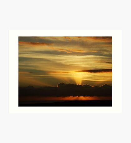 Softley Dawn....... Art Print
