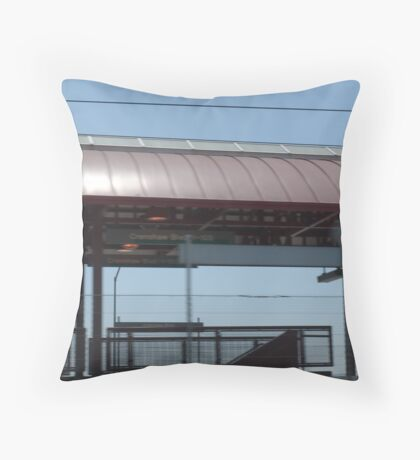 Commuter on Crenshaw in Los Angeles, CA 105 April 28, 2008 Throw Pillow