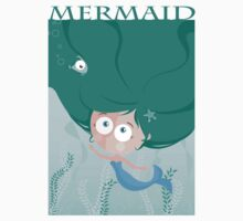 Mermaid t-shirt by oksancia