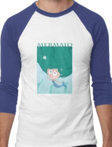 Mermaid t-shirt Men's Baseball ¾ T-Shirt