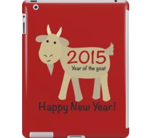 Happy New Year! 2015 Year of the Goat iPad Case/Skin