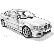 BMW 330CI (E46) Photographic Print