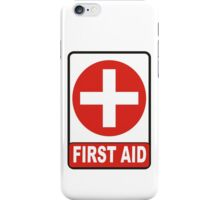 first aid iPhone Case/Skin