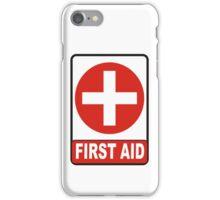 first aid iPhone Case/Skin