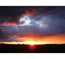 A Sun Rising Photographic Print