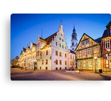 Buildings in Celle, Germany Canvas Print