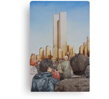 New York in Gold Canvas Print