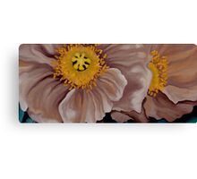 Poppies in Brown Canvas Print