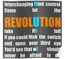 Muse Band Revolution Uprising  Poster