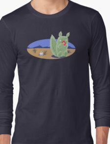 Squirrel Cactus  Long Sleeve T-Shirt