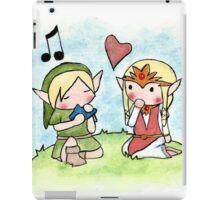 Link and Zelda iPad Case/Skin