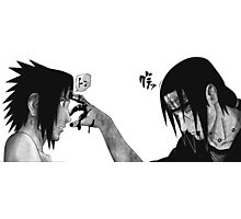 Itachi and Sasuke Photographic Print