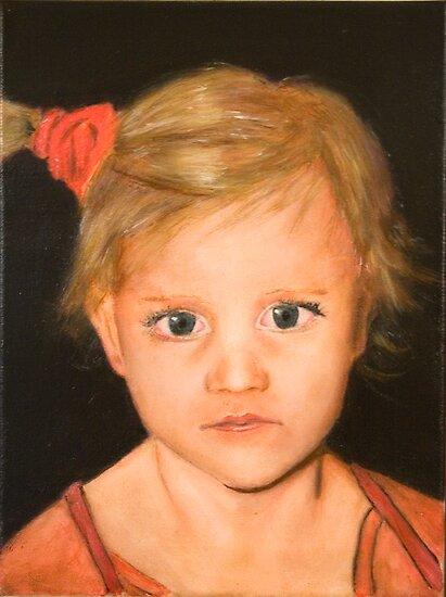 Jennifer on Canvas by Robert O'Neill