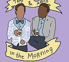 troy and abed in the morning by lordloss