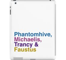 Phantomhive, Michaelis, Trancy & Faustus iPad Case/Skin