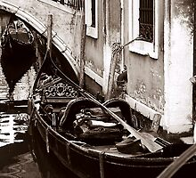 Gondolas Sleeping by DavidROMAN