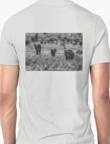 Three Elephants (Loxodonta africana) T-Shirt