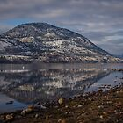 Okanagan Lake at Penticton, BC by Sheri Bawtinheimer