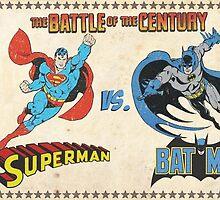 Superman v Batman by EmzRees