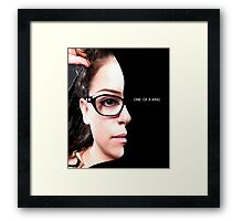 Cosima - Orphan Black - one of a kind Framed Print
