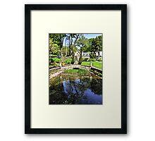 Portmeirion HDR Framed Print