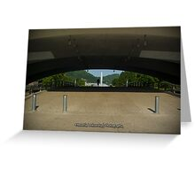 Point State Park - Early Morning Bagpipes Greeting Card