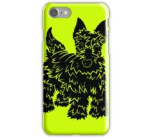Shaggy Scotty Dog  iPhone Case/Skin