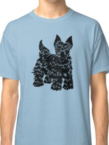 Shaggy Scotty Dog  Classic T-Shirt