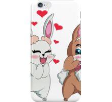 Bunny Valentine  iPhone Case/Skin