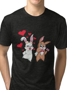 Bunny Valentine  Tri-blend T-Shirt