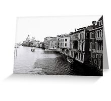 Mornings on the Canal Greeting Card