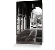 Market Place Greeting Card