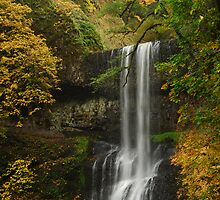 Lower South Falls Panorama by Andrew Maisel
