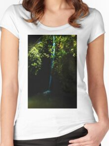Tranquil waters Women's Fitted Scoop T-Shirt