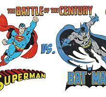 Batman v Superman by EmzRees